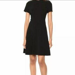 Theory Modern Seamed Shirt Admiral Crepe Dress